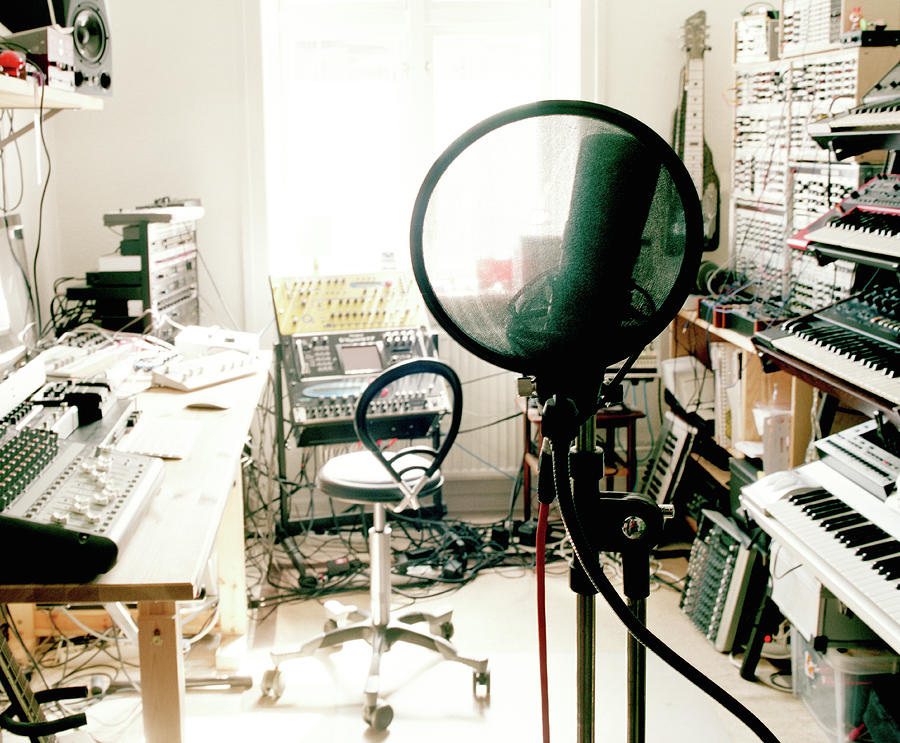 Music Studio Photograph by Muriel De Seze