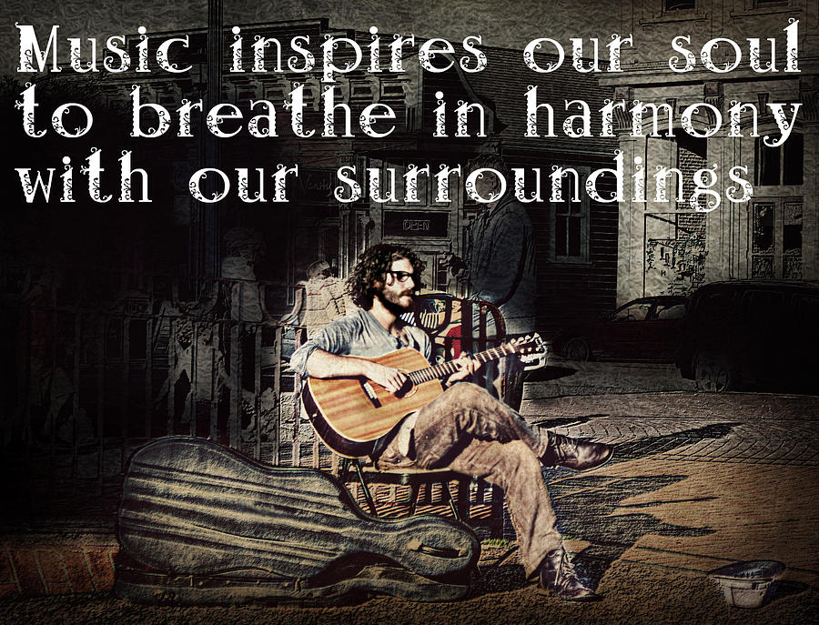 Music Photograph - Musical Inspiration by Melanie Lankford Photography
