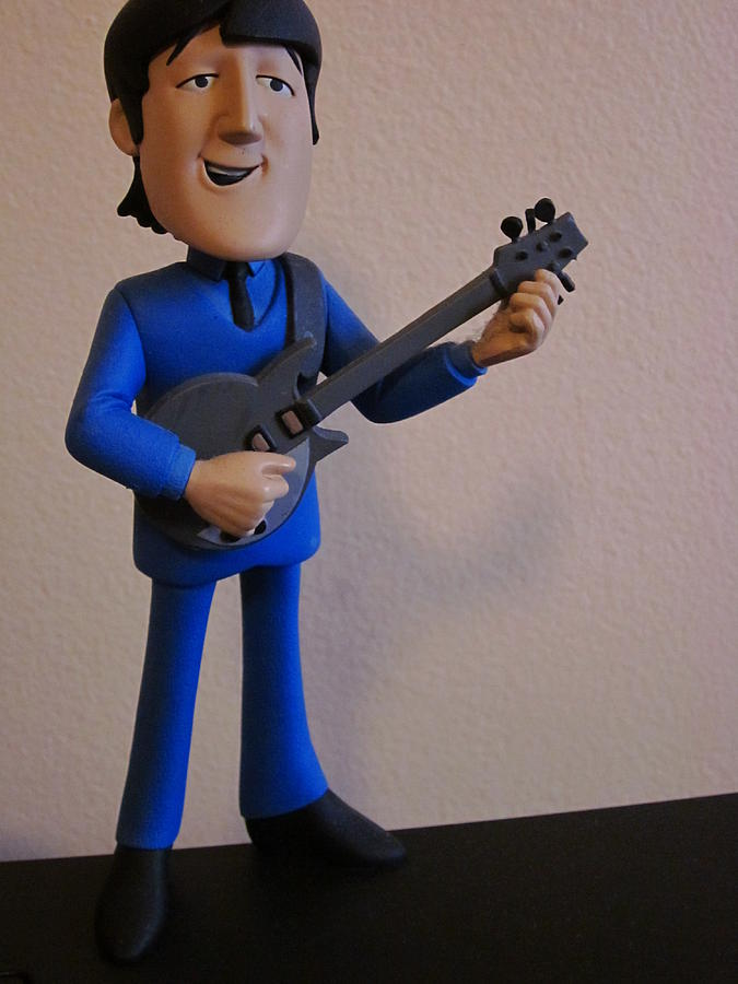 Toys Photograph - Musical John by Guy Ricketts