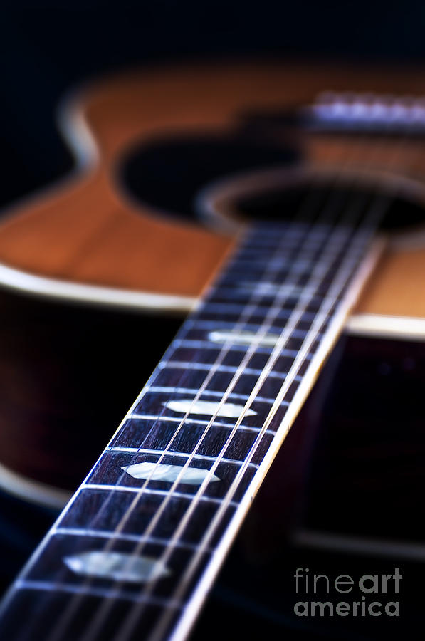 Guitar Photograph - Musical Memories by Tamyra Ayles