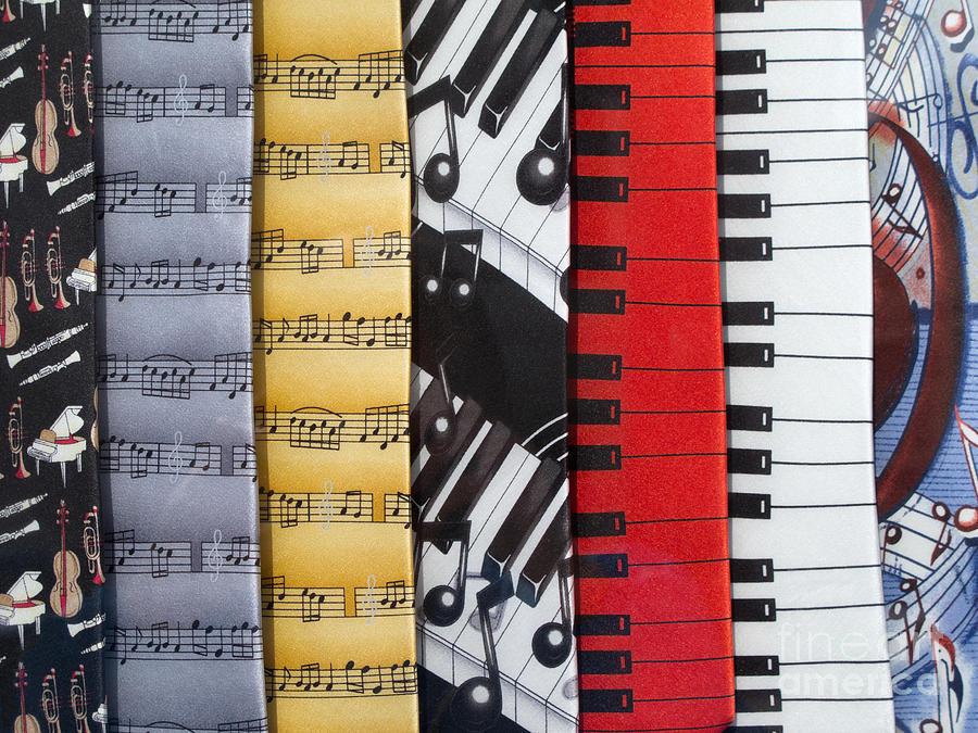 Music Photograph - Musical Motifs by Ann Horn