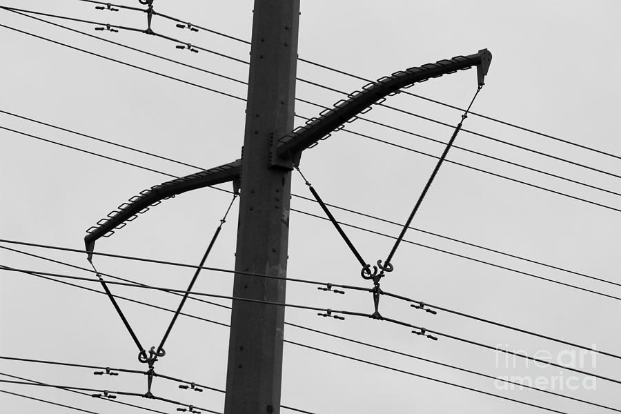 Electrical Photograph - Musical Notes 1 by Jackie Farnsworth