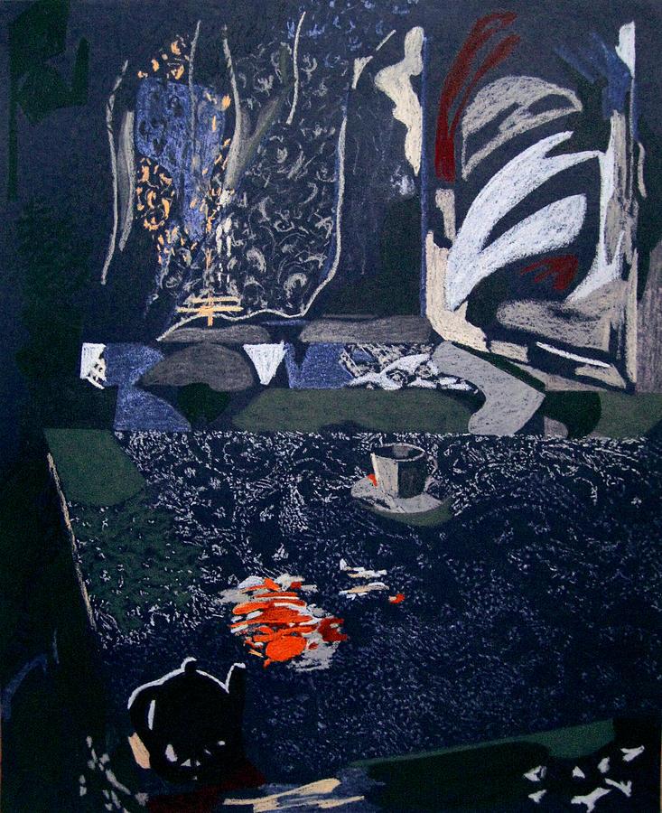 Window Painting - Musical Sensation by Tadeush Zhakhovskyy