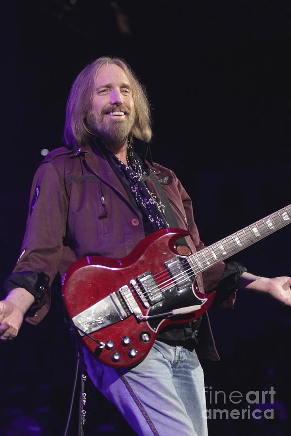 Singer Photograph - Tom Petty  by Concert Photos