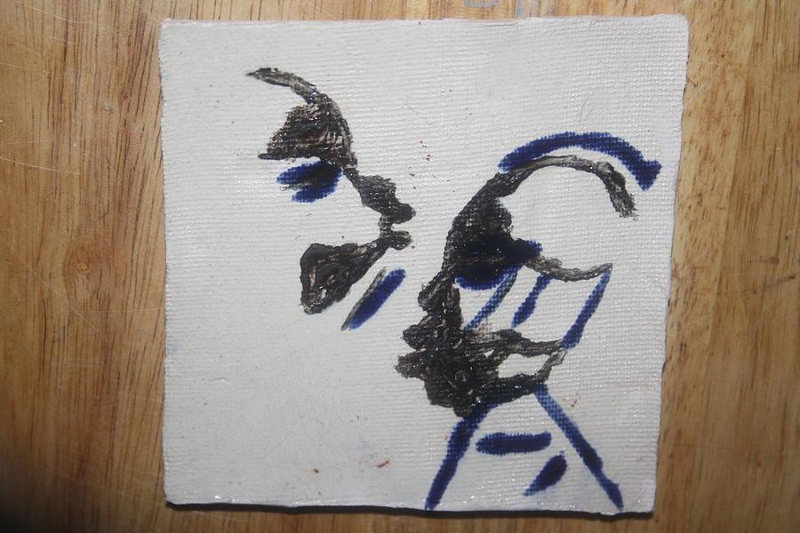 Jesus Ceramic Art - Musicman - Tile by Gloria Ssali