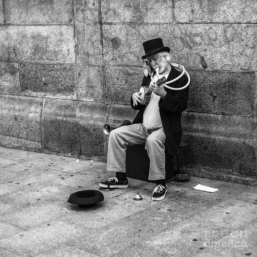 Musicman Photograph by Eugenio Moya