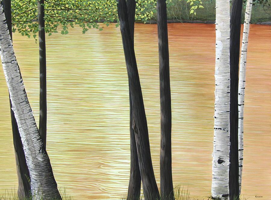 Landscape Painting - Muskoka Lagoon by Kenneth M  Kirsch