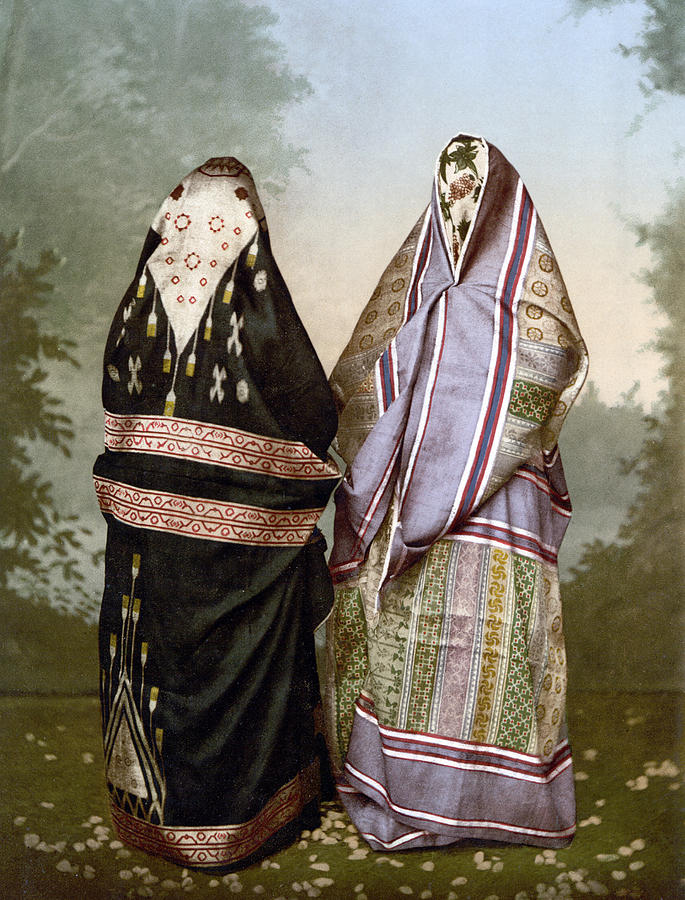 1895 Painting - Muslim Women, C1895 by Granger