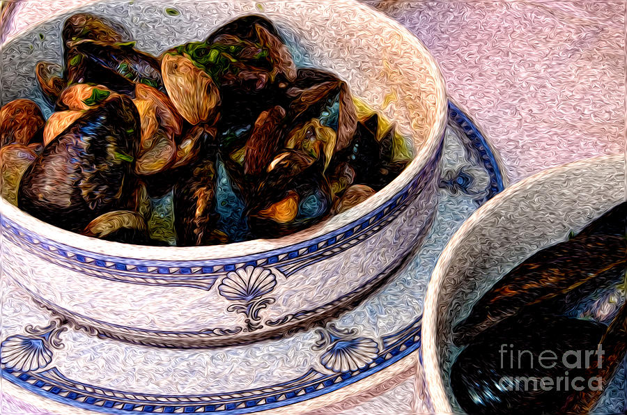 Mussels And Clams In Italy Photograph