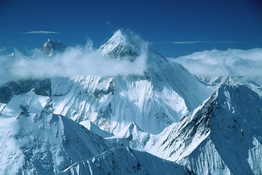 Mustagh Tower And Masherbrum Photograph by Colin Monteath
