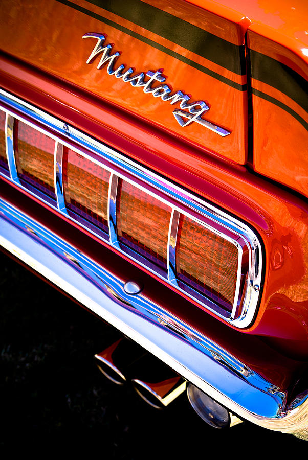 Ford Mustang Photograph - Mustang Mach 1 by Phil motography Clark