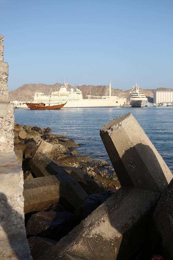 Mutrah Kurnish - Oman Photograph by Ibrahim Albalushi