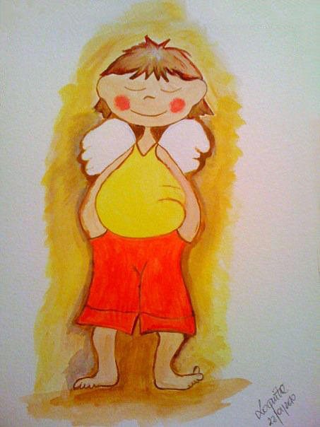 My Angel Painting by Ellie Art