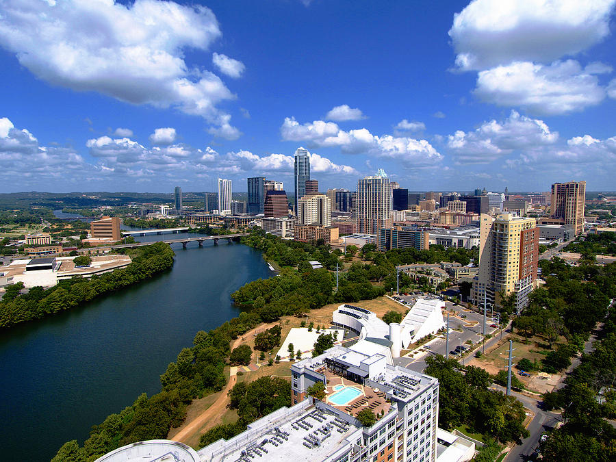 Austin Texas Photograph - My Austin II Without Borders by James Granberry
