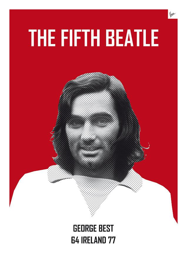 Beckenbauer Digital Art - My Best Soccer Legend Poster by Chungkong Art