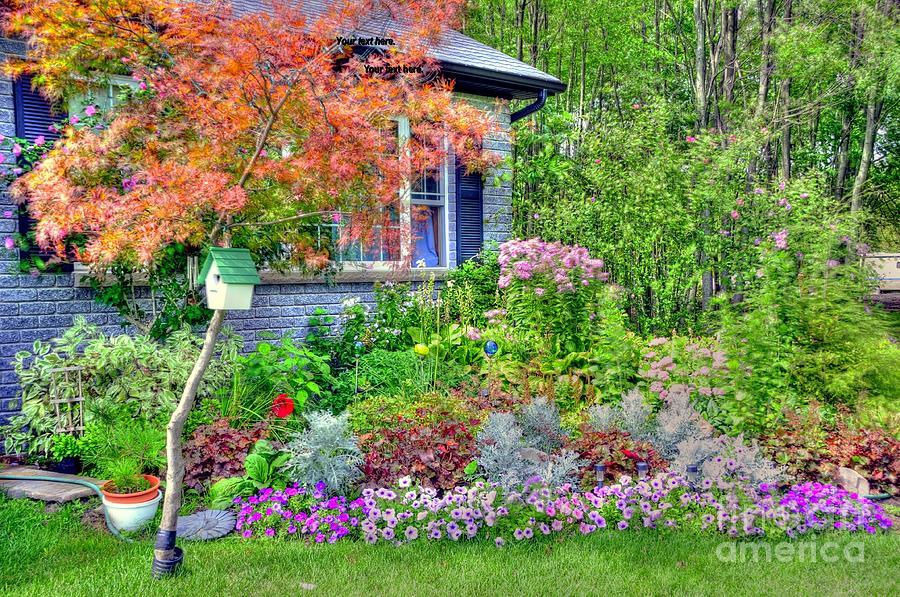 House Photograph - My Corner Of The World by Kathleen Struckle