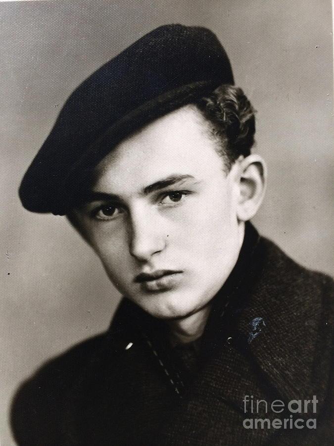 Portrait Photograph - My  Dady Anno Domini . 1942. by  Andrzej Goszcz