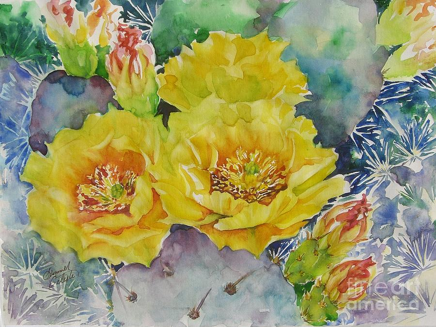 Cactus Painting - My Delight by Summer Celeste