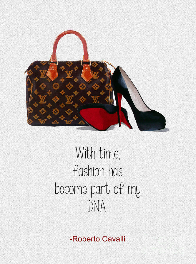 Christian Louboutin Mixed Media - My Dna by My Inspiration