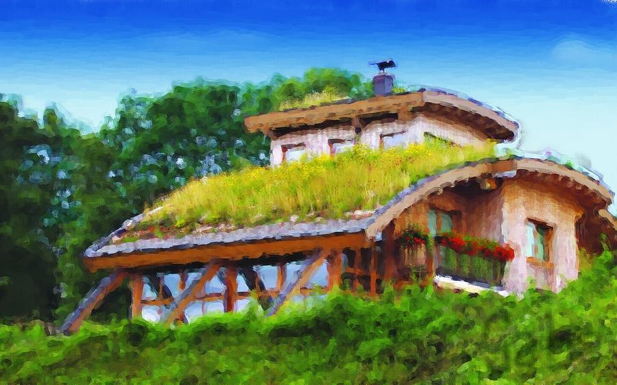 House Digital Art - My Dream House by Gabriel Mackievicz Telles