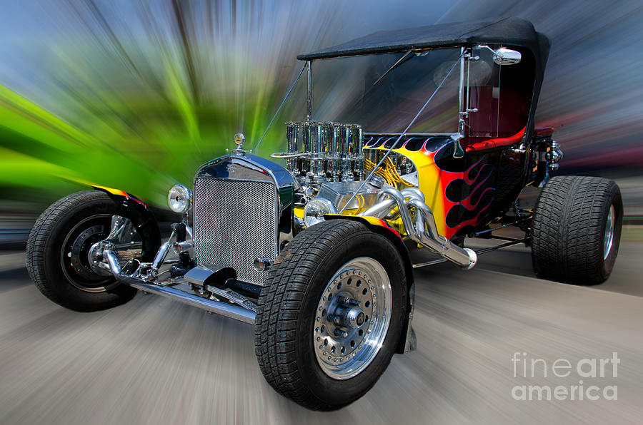 Hotrod Photograph - My Dream Ride by JohnD Smith