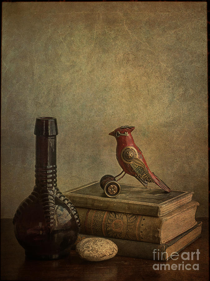 Books Photograph - My Favorite Things by Terry Rowe