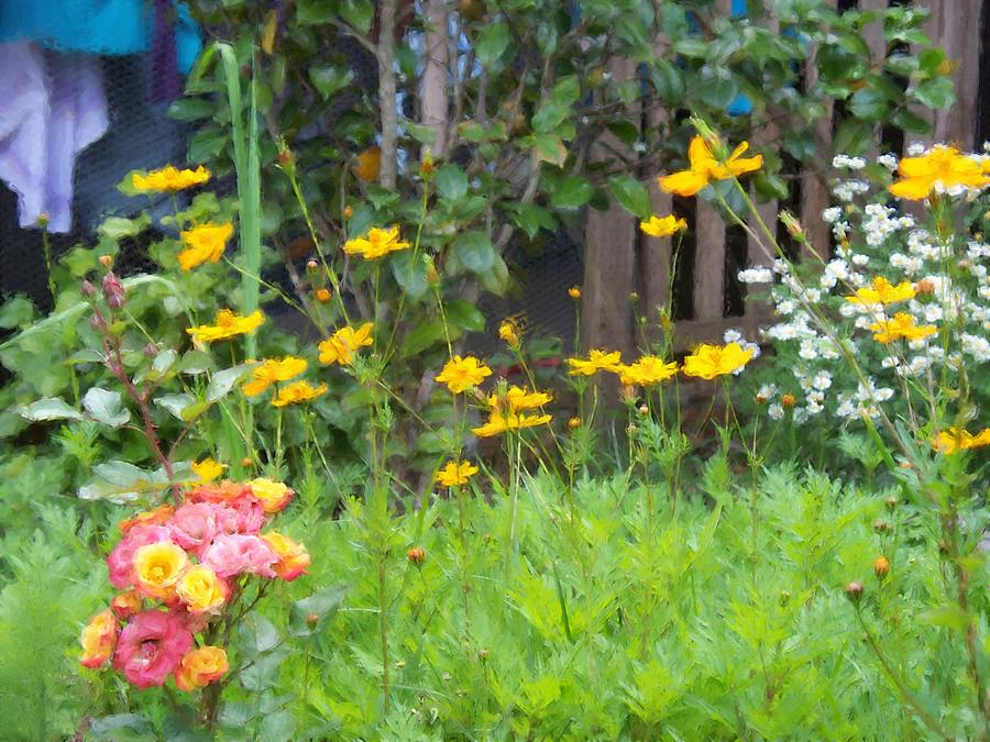 Garden Digital Art - My Garden by Gabriel Mackievicz Telles
