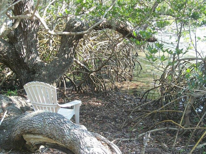 Seascape Hideaway Water Chair Photograph - My Hideaway by Bruce Kessler