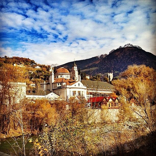Beautiful Photograph - My Hometown #merano - #altoadige - by Luisa Azzolini