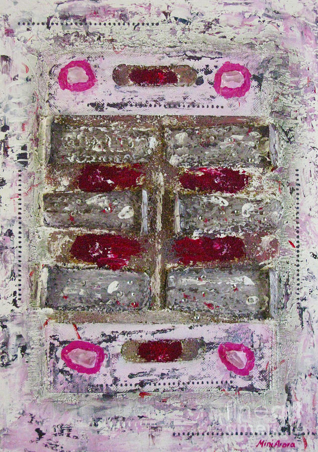 Assorted Items Mixed Media - My Jewel by Mini Arora