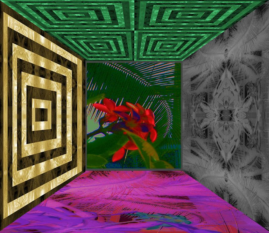 Hawaii Digital Art - My Kauai Island Room by Geoff Simmonds