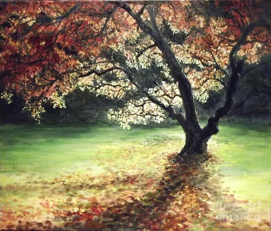 My Love Of Trees Vii Painting