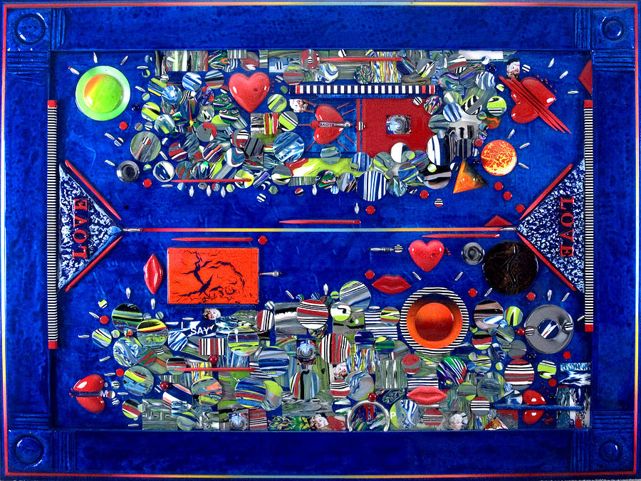 Love Story Painting - My Love Story by Armand Elgrissy