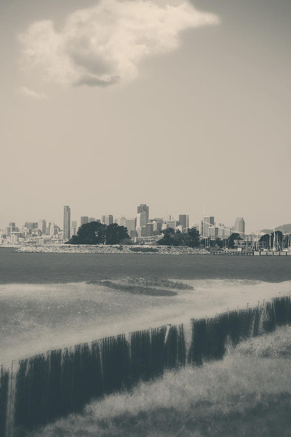 San Francisco Photograph - My Mind Knows No Quiet by Laurie Search