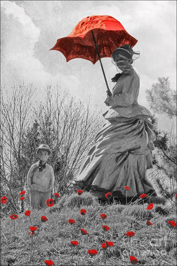 La Promenade Photograph - My Monet by Tom York Images