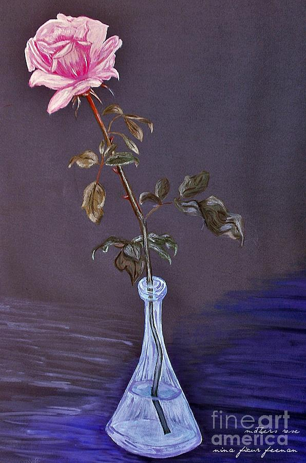 Rose Photograph - My Mothers Rose by Nina Ficur Feenan