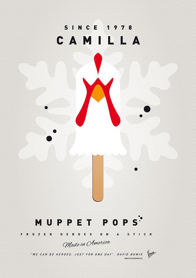 Muppets Digital Art - My Muppet Ice Pop - Camilla by Chungkong Art