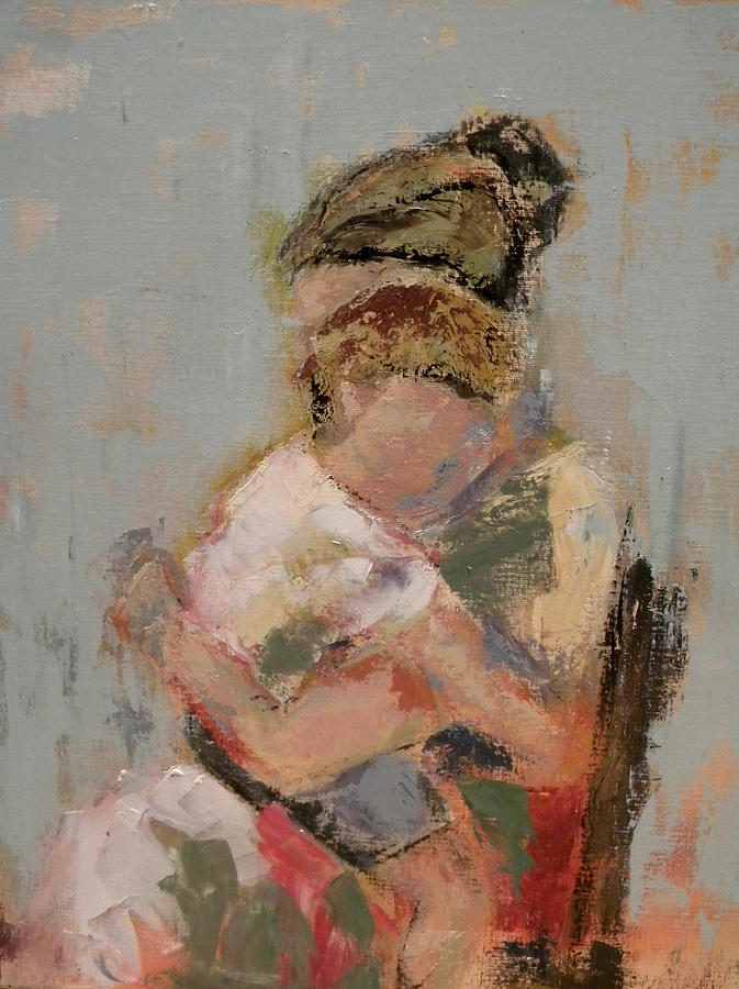 Mother Painting - My Nana by Lisa Moore