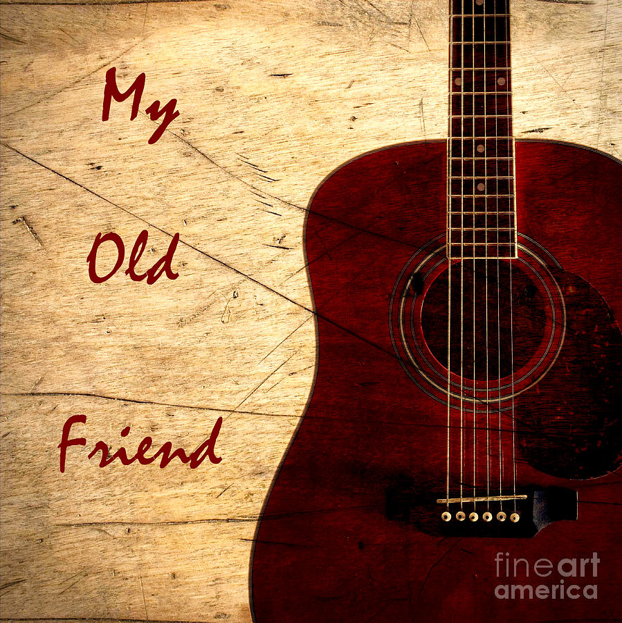 My Old Friend - Guitar - Music Photograph by Barbara Griffin