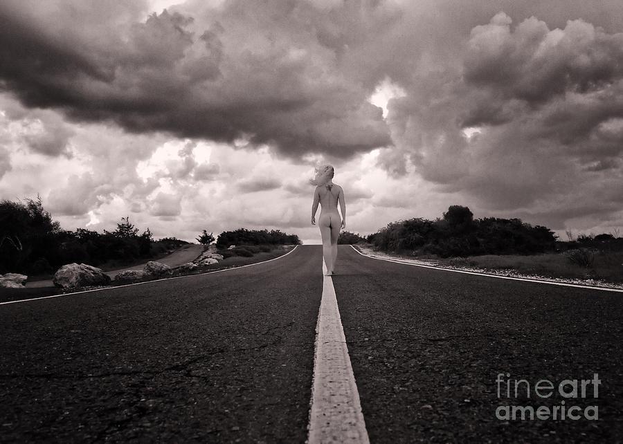 Adult Photograph - My Own Destiny by Stelios Kleanthous