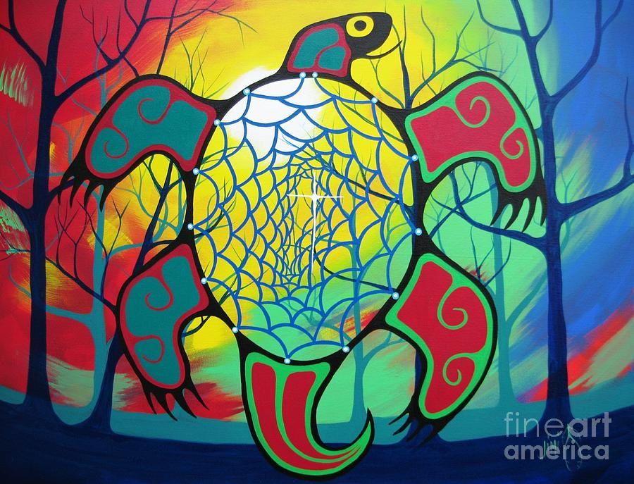 First Nations Clip Art Paintings