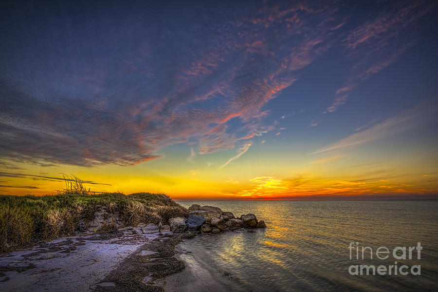 Rocky Beach Photograph - My Quiet Place by Marvin Spates