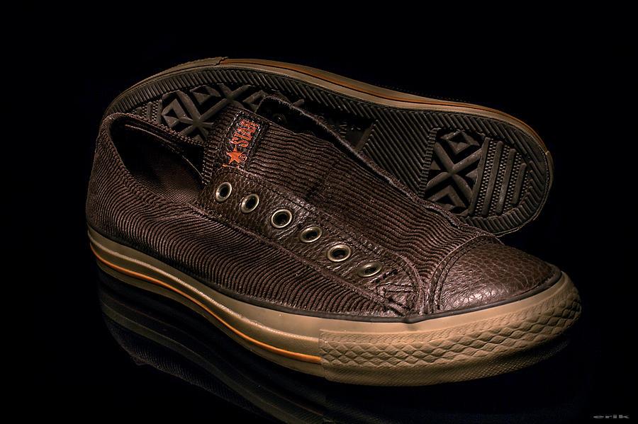 My Shoes... Pyrography by Erik Lunacek