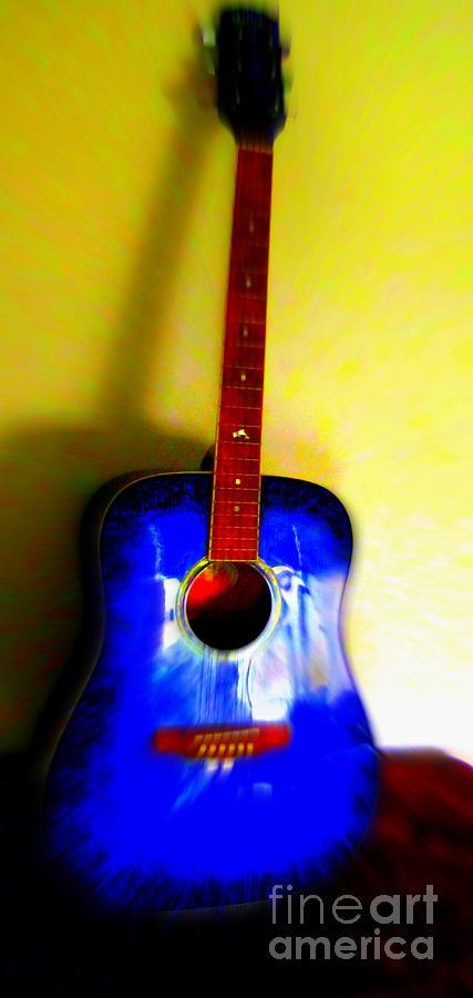 Guitar Photograph - My Six Strings by Roberto Gagliardi