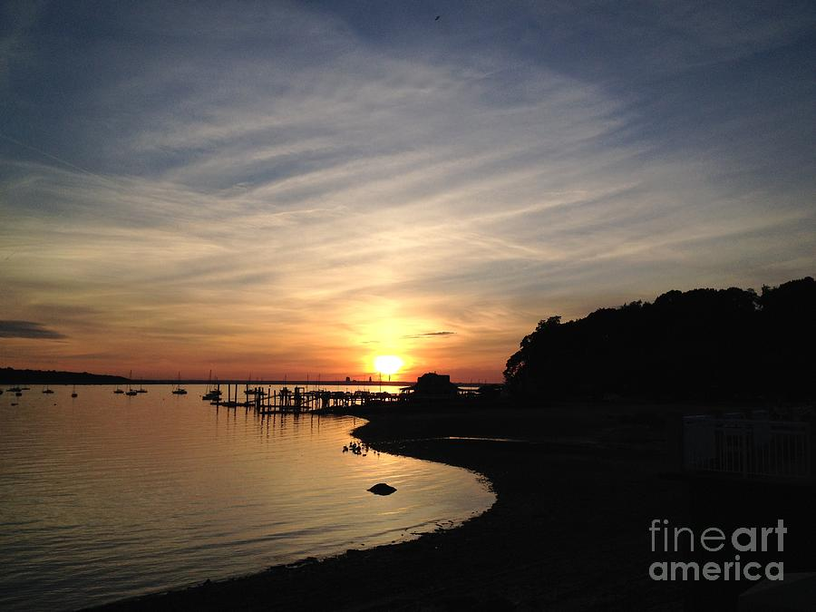 Sunset Photograph - My Sunset Getaway by Stephanie  Varner