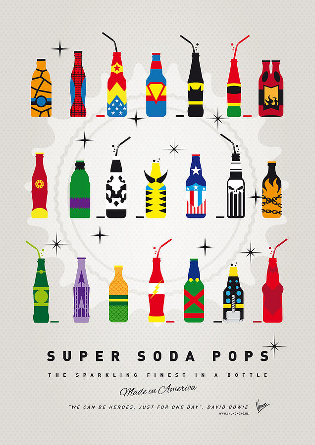 Ice Digital Art - My SUPER SODA POPS No-00 by Chungkong Art