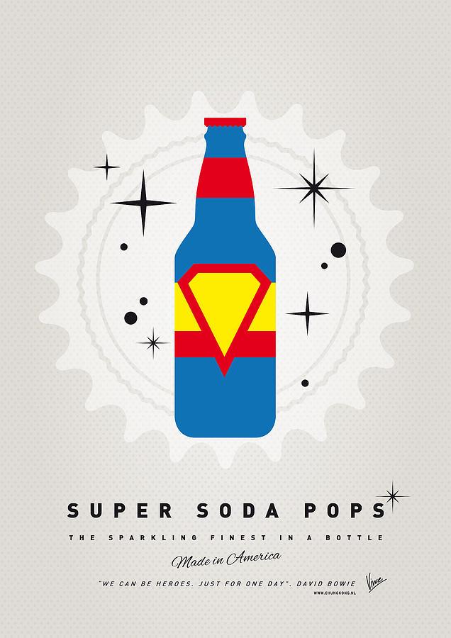 Superheroes Digital Art - My Super Soda Pops No-05 by Chungkong Art