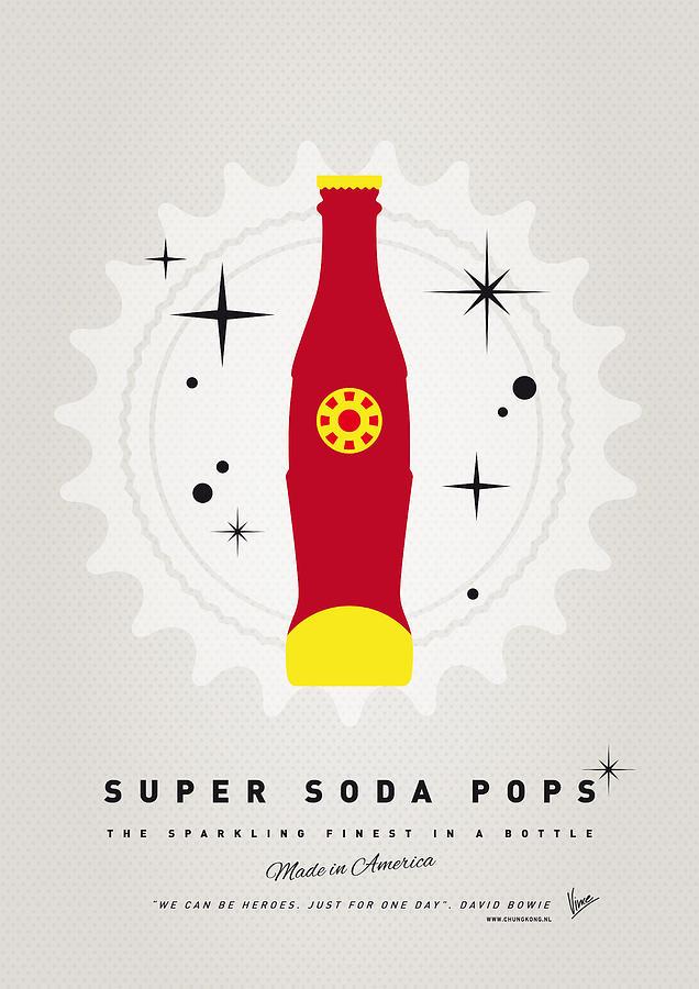 Ironman Digital Art - My Super Soda Pops No-09 by Chungkong Art