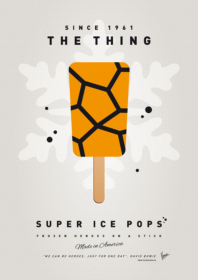 Superheroes Digital Art - My Superhero Ice Pop - The Thing by Chungkong Art
