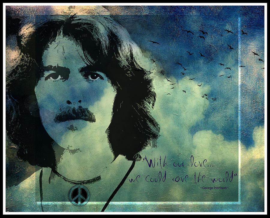 George Harrison Prints Digital Art - My Sweet Lord by Marie  Gale